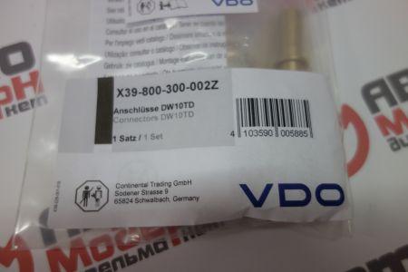 Set connectors DW10TD VDO X39-800-300-002Z