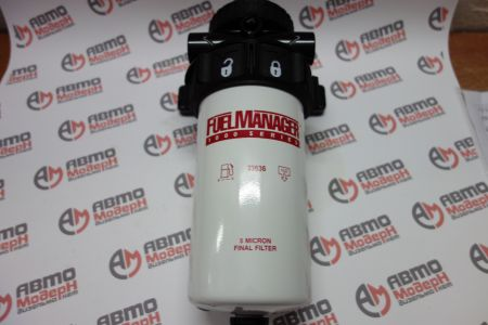 FUEL MANAGER FM1000 Filter Assy 1/2-14 NPT  (5 Mic) 33690
