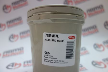 HEAD AND ROTOR M/VALVE 7189-867L